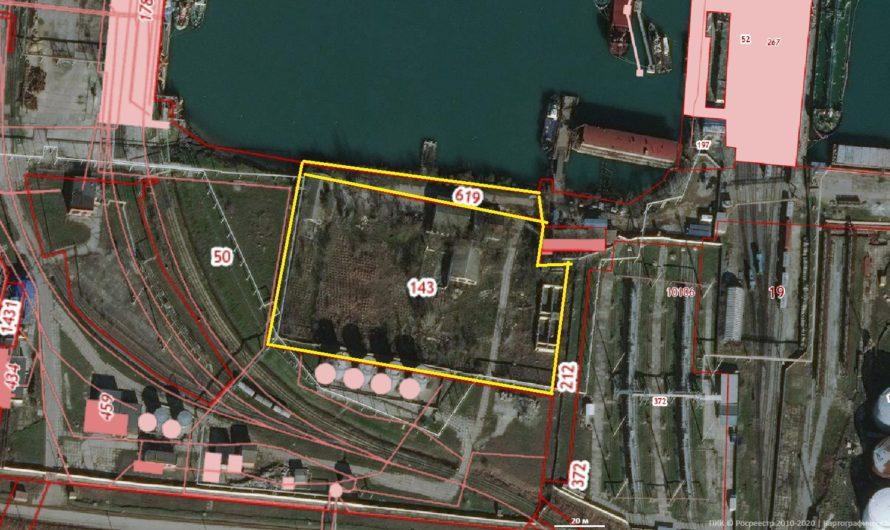 Земельный участок в порту Керчи — 152 сотки