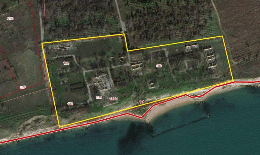 Продам участок с пляжем в Крыму 387 соток