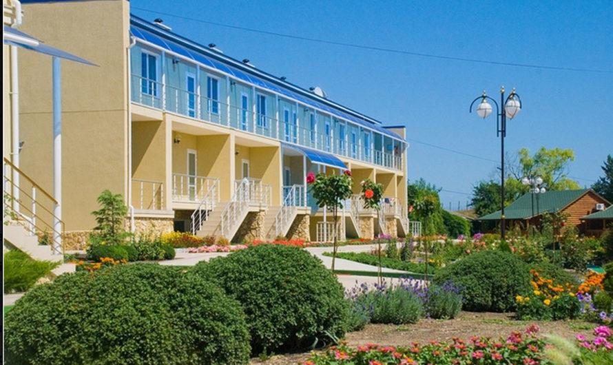 Действующая база отдыха в Керчи
